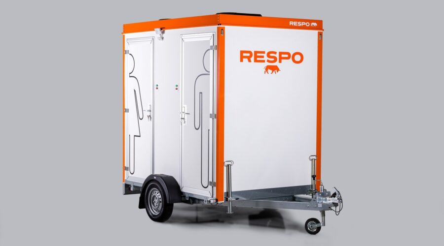 Mobiilne topelt 300L WC